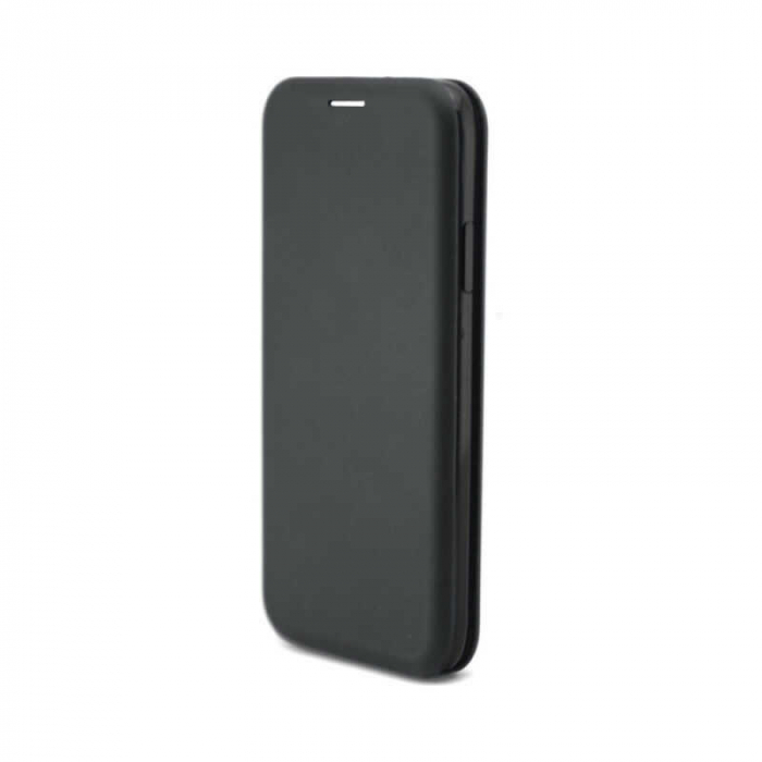 Husa Samsung Galaxy S20 Plus 2020 Neagra Tip Carte/Toc Flip Cover din Piele Ecologica Portofel cu Inchidere Magnetica 0