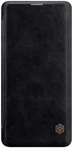 Husa Samsung Galaxy S20 Plus 2020 Negru Toc Flip Nillkin Qin Piele Eco Premium Tip Carte Portofel 4