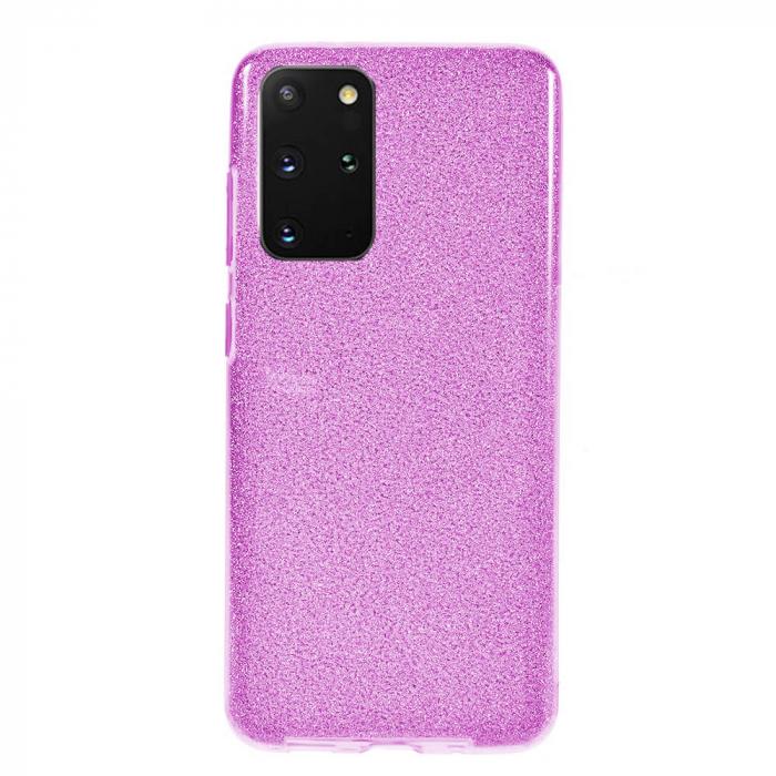 Husa Samsung Galaxy S20 Plus 2020 Sclipici Carcasa Spate Mov Silicon TPU 0