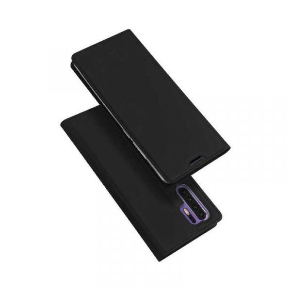 Husa Samsung Galaxy S20 Plus 2020 Toc Flip Portofel Negru Piele Eco DuxDucis 4
