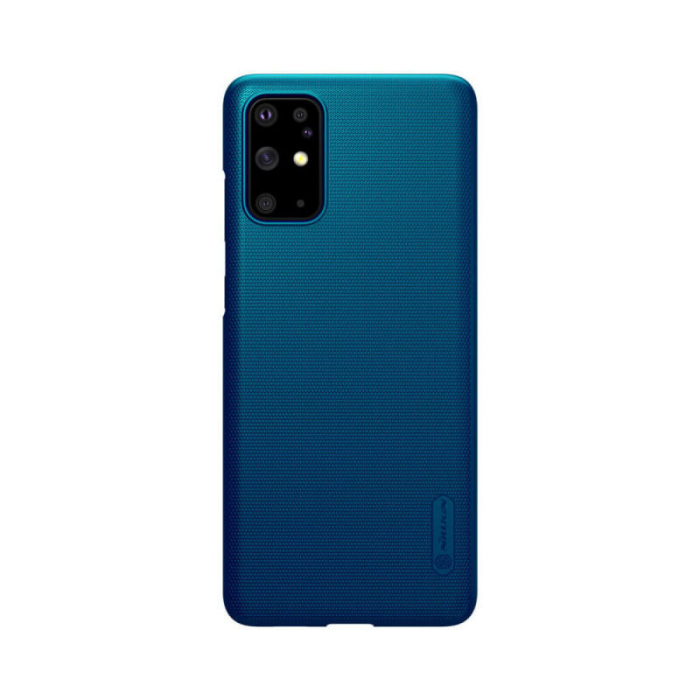 Husa Silicon Samsung Galaxy S20 Plus Albastru Nillkin Frosted 0