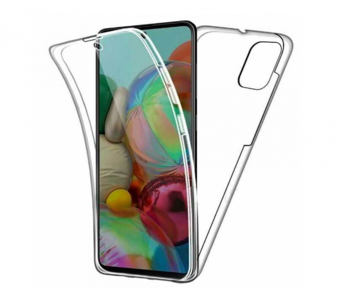 Husa Samsung Galaxy S20 Plus Full Cover 360 Grade Transparenta 0
