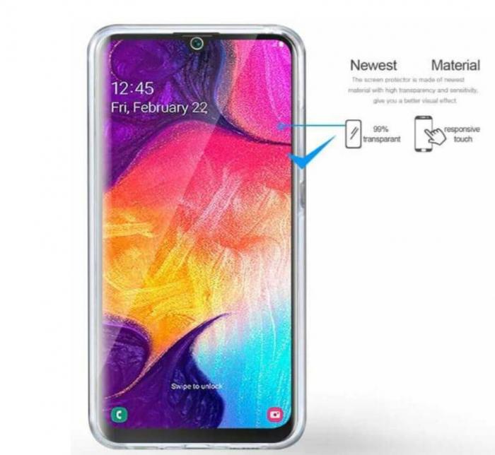 Husa Samsung Galaxy S20 Plus Full Cover 360 Grade Transparenta 2