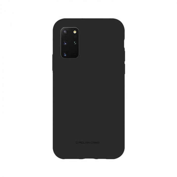 Husa Samsung Galaxy S20 Plus Silicon Negru Molan Cano [0]