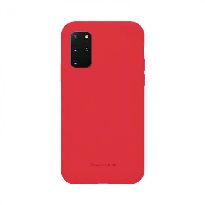 Husa Samsung Galaxy S20 Plus Silicon Rosu Molan Cano [0]
