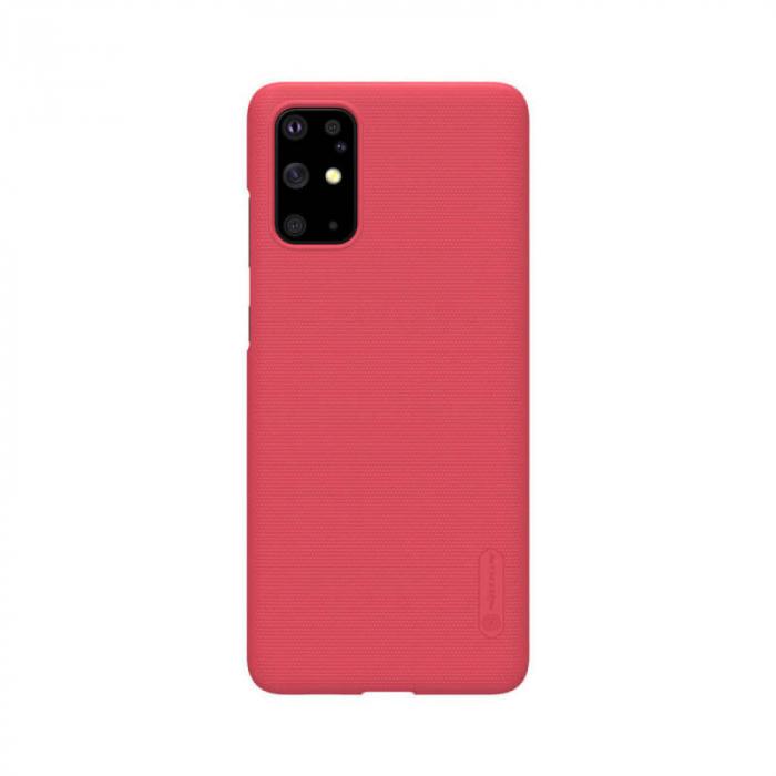 Husa Silicon Samsung Galaxy S20 Plus Rosu Nillkin Frosted [0]