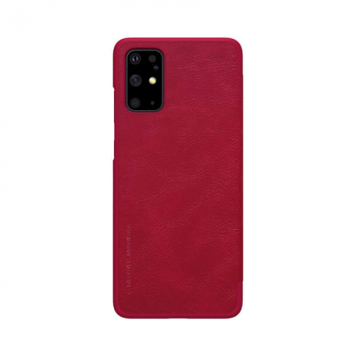 Husa Flip Samsung Galaxy S20 Plus Rosu Tip Carte Magnetica Nillkin Qin [2]