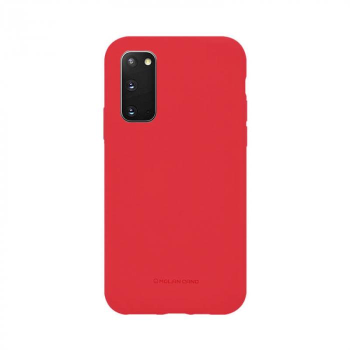 Husa Samsung Galaxy S20 Silicon Rosu Molan Cano [0]