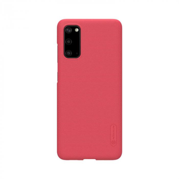 Husa Silicon Samsung Galaxy S20 Rosu Nillkin Frosted [0]