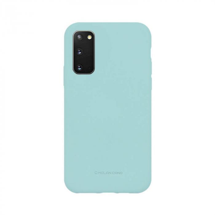 Husa Samsung Galaxy S20 Silicon Turcoaz Molan Cano [0]