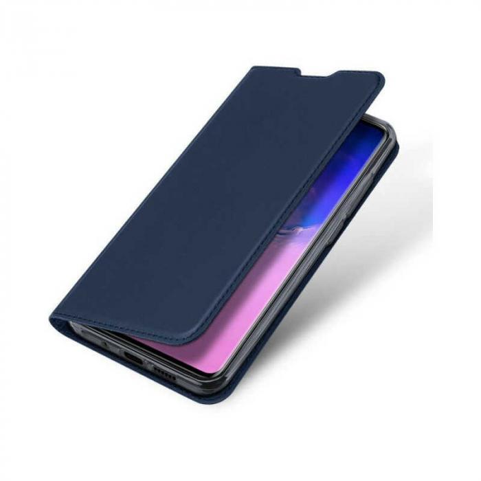 Husa Samsung Galaxy S20 Ultra 2020 Toc Flip Tip Carte Portofel Bleumarin Piele Eco DuxDucis 3