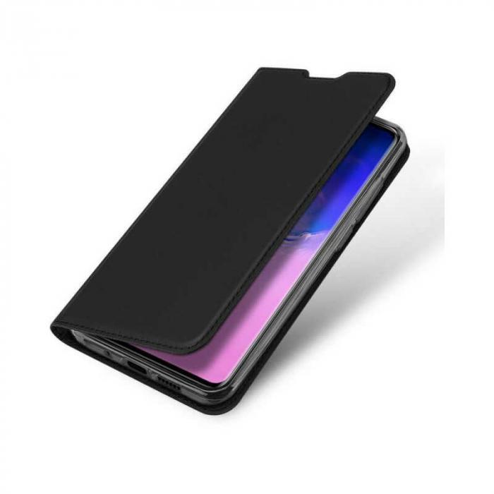 Husa Samsung Galaxy S20 Ultra 2020 Toc Flip Tip Carte Portofel Negru Piele Eco DuxDucis [3]