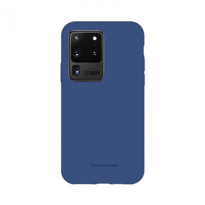 Husa Samsung Galaxy S20 Ultra Silicon Albastru Molan Cano [0]