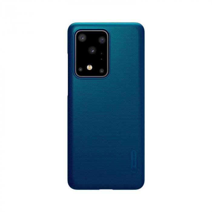 Husa Silicon Samsung Galaxy S20 Ultra Albastru Nillkin Frosted 0