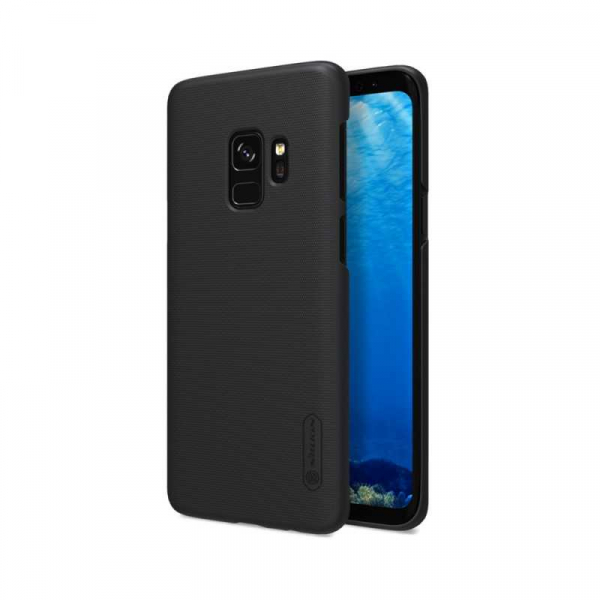 Husa Samsung Galaxy S9 2018 Carcasa Spate Premium Nillkin Frosted Negru 0