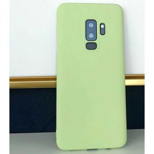 Husa Samsung Galaxy S9 2018 Verde Silicon Slim protectie Premium Carcasa 1