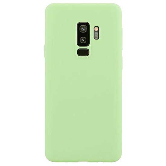 Husa Samsung Galaxy S9 2018 Verde Silicon Slim protectie Premium Carcasa 0