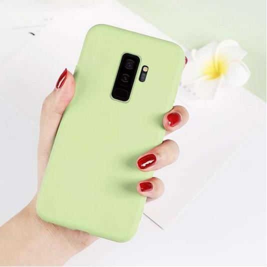 Husa Samsung Galaxy S9 2018 Verde Silicon Slim protectie Premium Carcasa 2