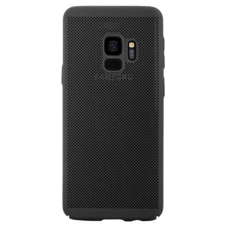 Husa Samsung Galaxy S9 2018 Negru Perforata 0