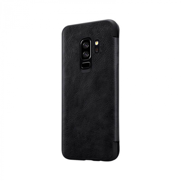 Husa Flip Samsung Galaxy S9 Plus Negru Tip Carte Magnetica Nillkin Qin [3]