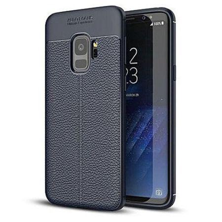 Husa Samsung Galaxy S9 Silicon TPU Colorat Negru-Autofocus Black 0