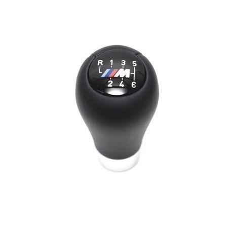 Nuca schimbator BMW Logo M E90 E91 E46 E60 X1 X3 X5 - 6 Trepte Piele