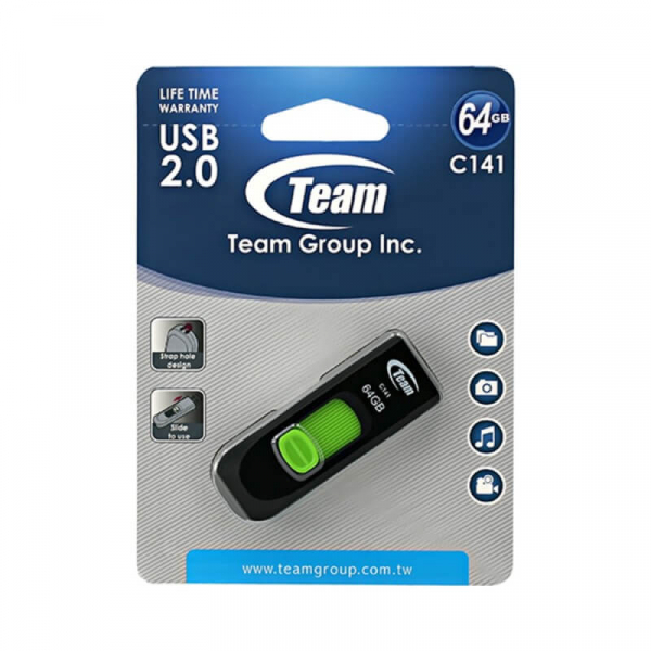 Stick memorie 64 GB USB 2.0 Team 0