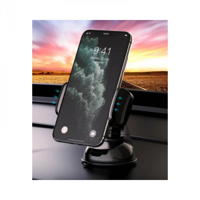 Suport Auto Telefon Negru Devia Universal [1]
