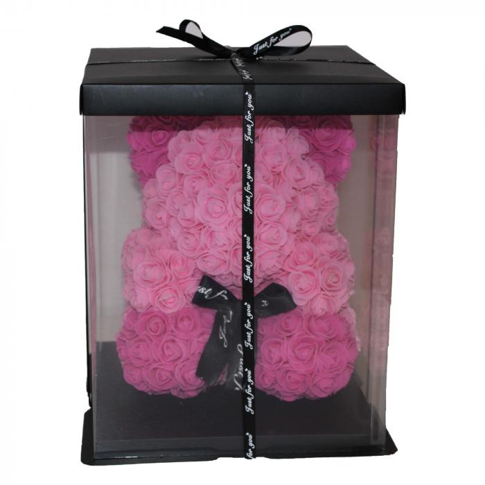 Ursulet din Trandafiri Roz 2 Nuante 1