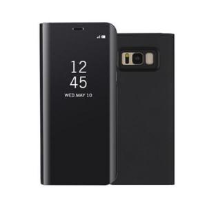 Husa Samsung Galaxy S8 Clear View Flip Standing Cover (Oglinda) Negru (Black)