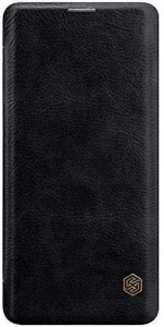 Husa Flip Samsung Galaxy S10 Plus Negru Tip Carte Magnetica Nillkin Qin0
