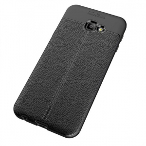 Husa Samsung Galaxy J4 Plus 2018 Silicon TPU Colorat Negru-Autofocus Black