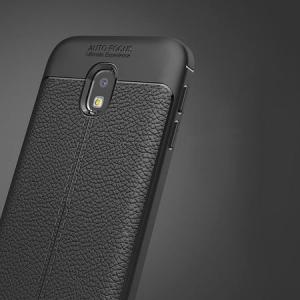 Husa Samsung Galaxy J7 2017 Silicon TPU Colorat Negru-Autofocus Black2