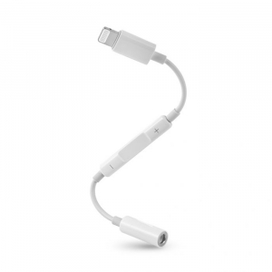 Adaptor Audio Lightning - Jack 3.5 mm Apple Apple iPad 4 Alb Blister2