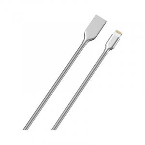Cablu de date/ incarcare Cablu Golf Kirsite pentru Apple Iphone Premium Quality Argintiu1