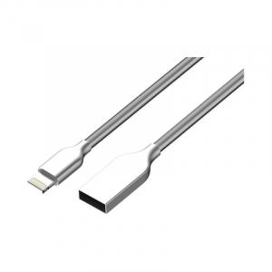 Cablu de date/ incarcare Cablu Golf Kirsite pentru Apple Iphone Premium Quality Argintiu3