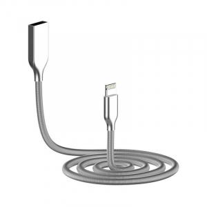 Cablu de date/ incarcare Cablu Golf Kirsite pentru Apple Iphone Premium Quality Argintiu2