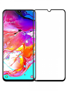 Folie Samsung Galaxy A70 2019 9H Full Glue 3D Neagra2