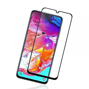 Folie Samsung Galaxy A70 2019 9H Full Glue 3D Neagra0