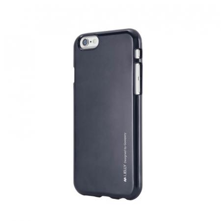 Husa Apple iPhone 11 Negru Jelly Metal0