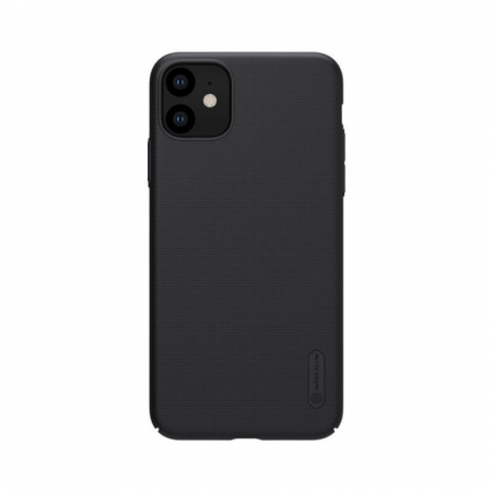 Husa Silicon iPhone 11 Negru Nillkin Frosted [0]