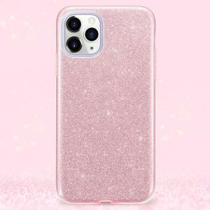 Husa Apple iPhone 11Pro Sclipici Roz4