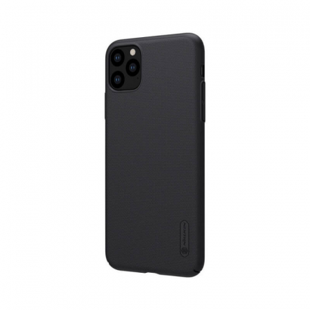 Husa Apple iPhone 11 Pro Max Negru Nillkin Frosted2