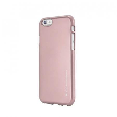 Husa Apple iPhone 11 Rosegold Jelly Metal0