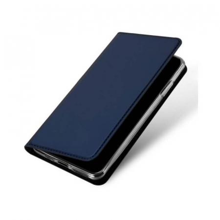 Husa Flip Apple iPhone 12 Tip Carte Albastru Skin DuxDucis [3]