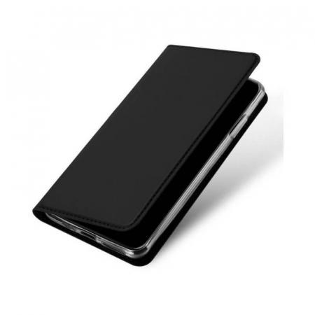 Husa Flip Apple iPhone 12 Tip Carte Negru Skin DuxDucis [3]
