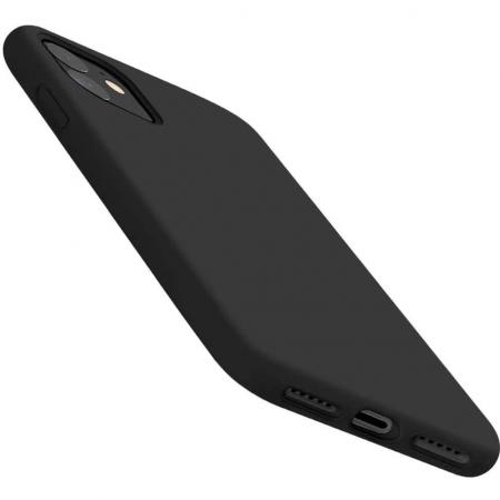 Husa Apple iPhone 12 Mini Negru Silicon Slim Atlas Ice [2]