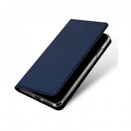 Husa Flip Apple iPhone 12Pro Tip Carte Albastru Skin DuxDucis [3]