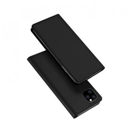 Husa Flip Apple iPhone 12Pro Tip Carte Negru Skin DuxDucis [4]