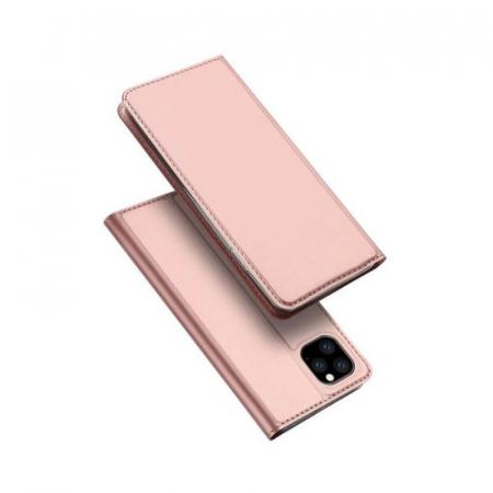 Husa Flip Apple iPhone 12Pro Tip Carte Roz Skin DuxDucis [4]